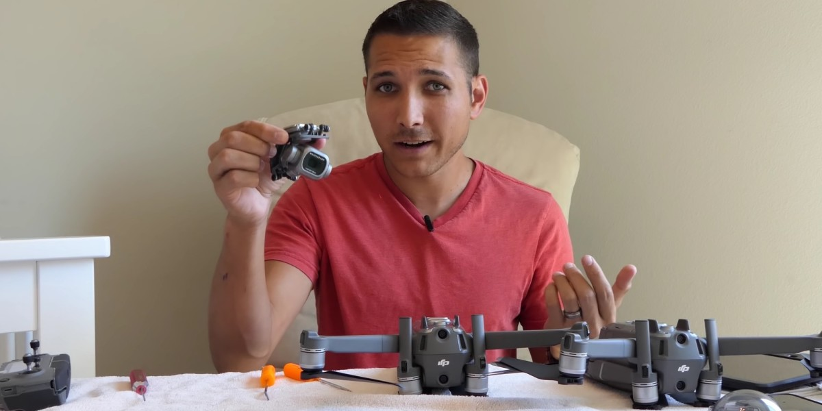 DIY camera swap for the DJI Magic Zoom and Pro drones [video]