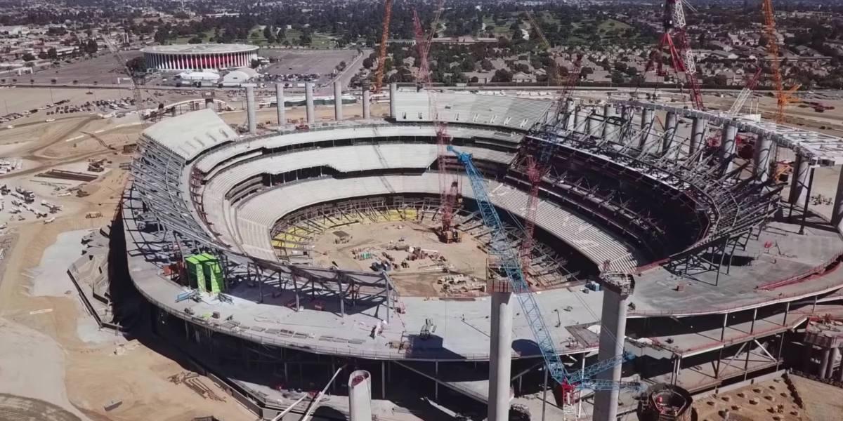 DroneRise - An inside look into the LA stadium