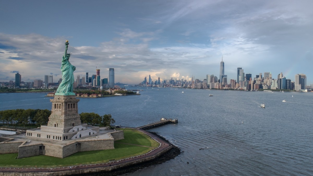 NYPD search for drone spotted 'near' Statue of Liberty