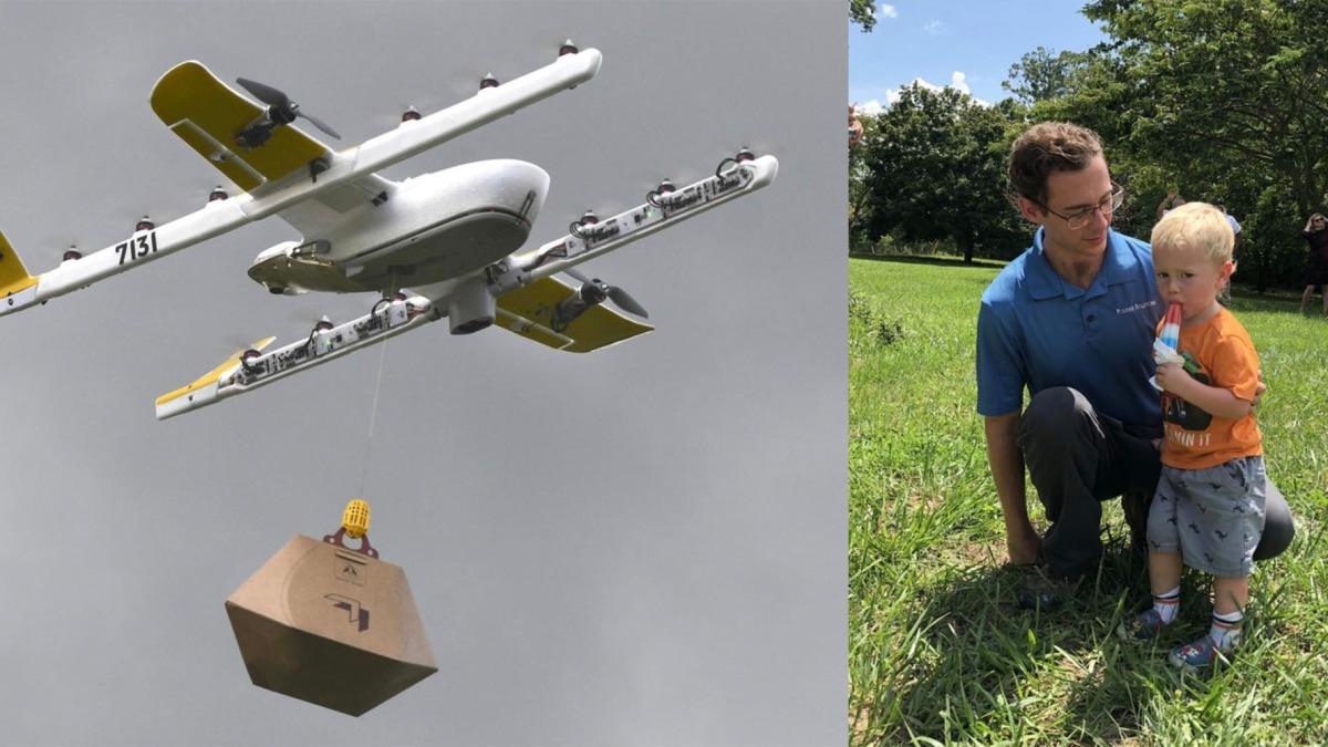 The FAA celebrates the first four successful drone delivery tests
