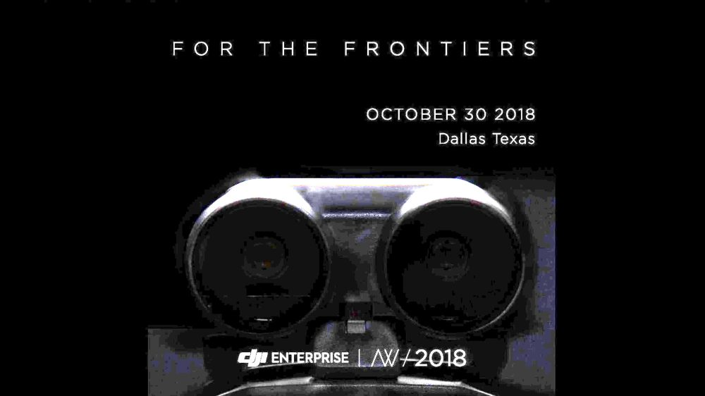 DJI Enterprise Airworks announcement - For the Frontiers