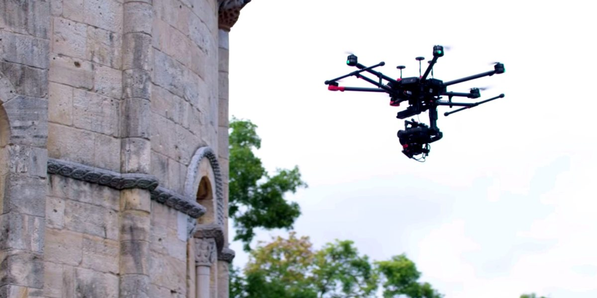 DJI and Hasselblad inspect The Met Cloisters' 12th-century Fuentidueña Apse