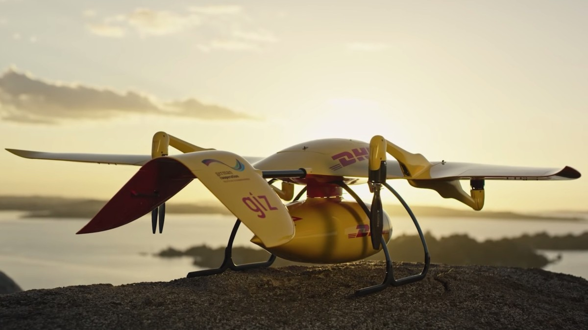 Deliver Future: DHL Parcelcopter flies 37 miles autonomously to a remote island in Lake Victoria