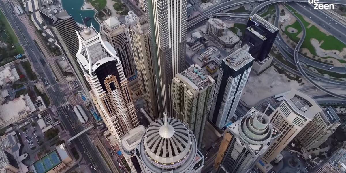 Dezeen's drone documentary 'Elevation' receives two accolades at Lovie Awards 2018