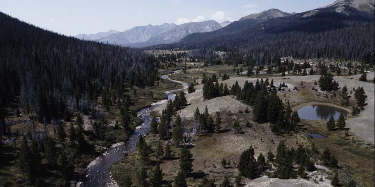 DroneRise - DJI Inspire 2 and Zenmuse X7 combo capture Colorado landscape