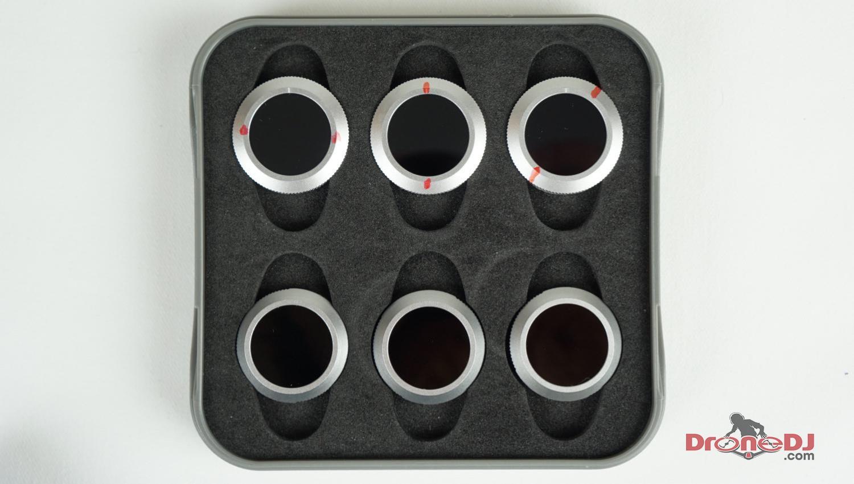 Freewell marking polarized filter