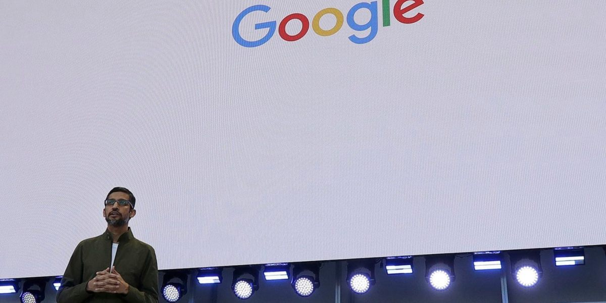 Google CEO met quietly with leaders at the Pentagon to talk AI