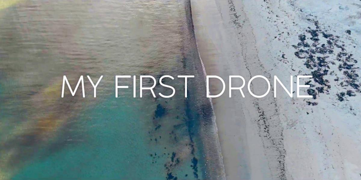 DroneRise - 'My first drone' video shot with a DJI Mavic Air