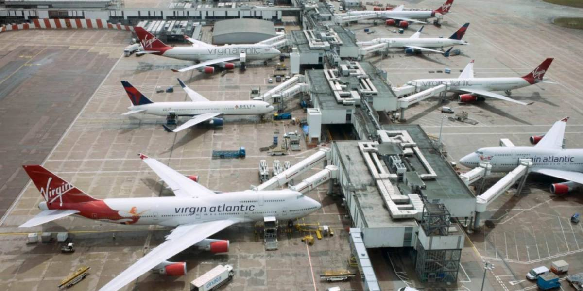 Near-miss between drone and passenger jet over London