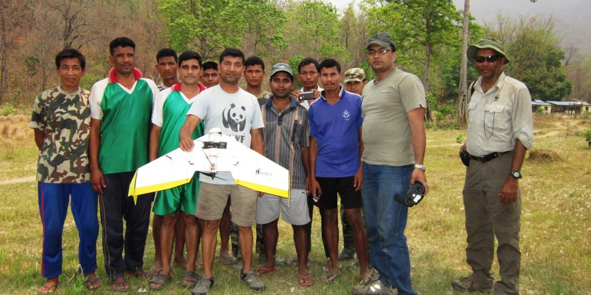 Scientists in Nepal use drones to count endangered crocodiles