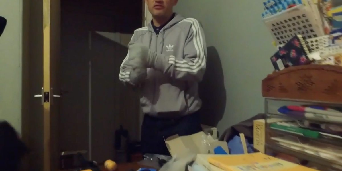 Scottish gang films themselves as they prepare to fly drugs into prison