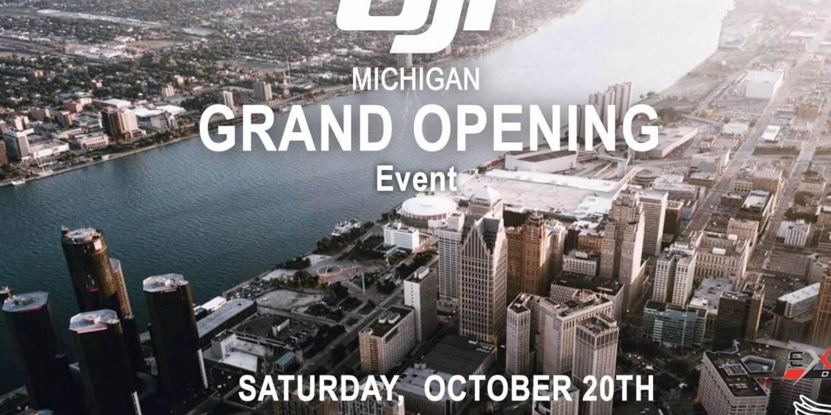 GRAND Opening DJI of Michigan - Authorized Retail Store