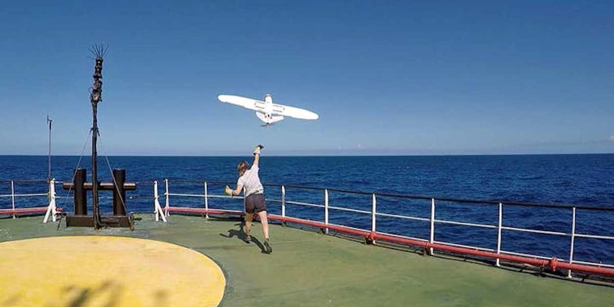 Aeromapper Talon Amphibious drone can land on water