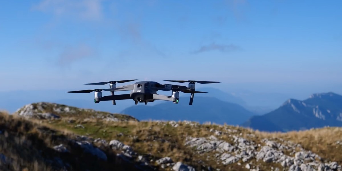 What you need to know when flying your drone in the mountains
