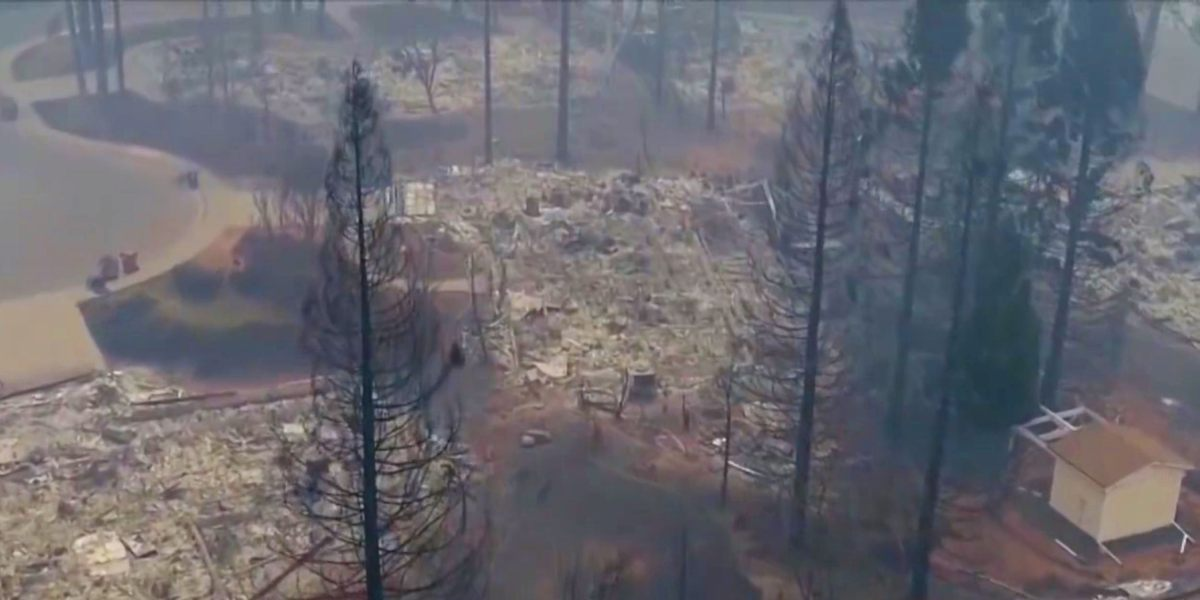 16 drone teams mapped Paradise Camp Fire area in two days