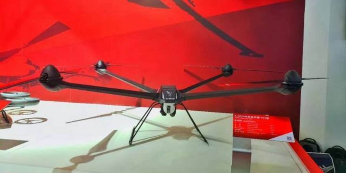 """China develops X-M20 """"Crane"""" drone with 16,000 feet ceiling"""