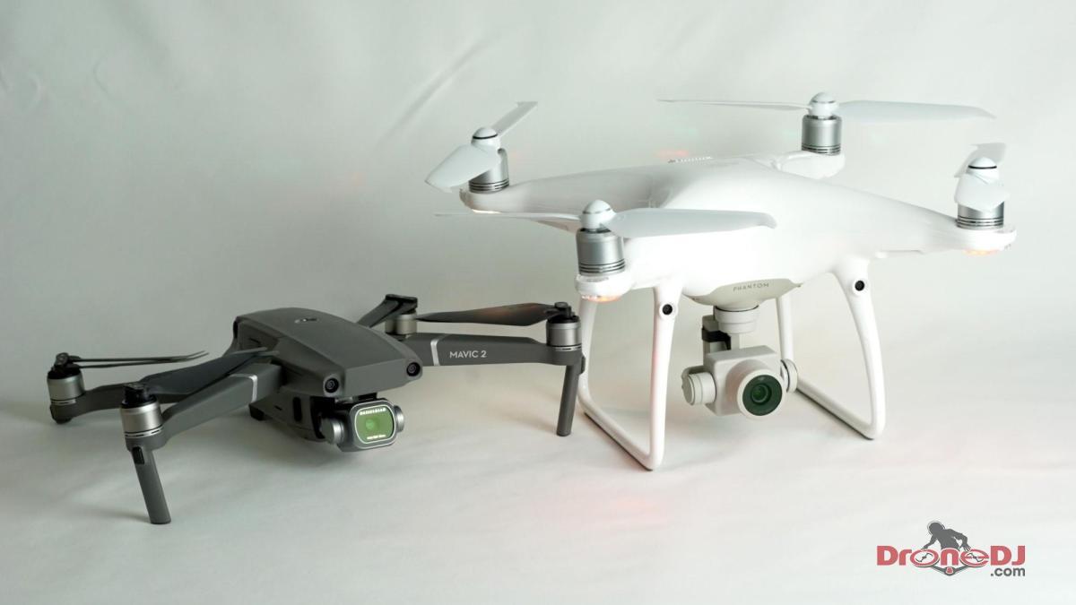 DJI Mavic 2 and Phantom 4 Pro best real estate photography drone
