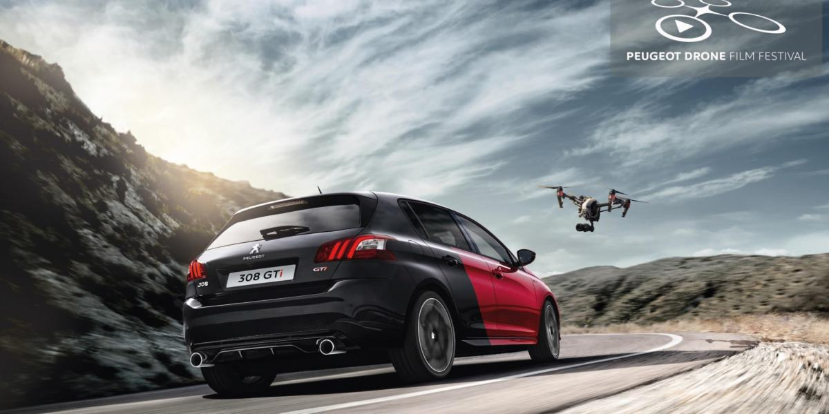 DJI and Peugeot sponsor the Drone Film Festival 2018/19