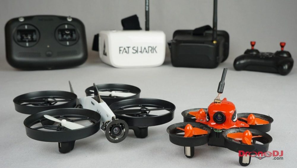 fatshark 101 vs eachine e013