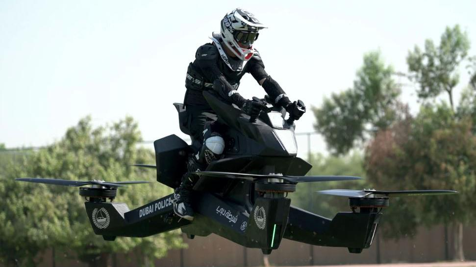 The Hoversurf Hoverbike Is A Deathtrap Dubai Police Don T Care Drone Dj