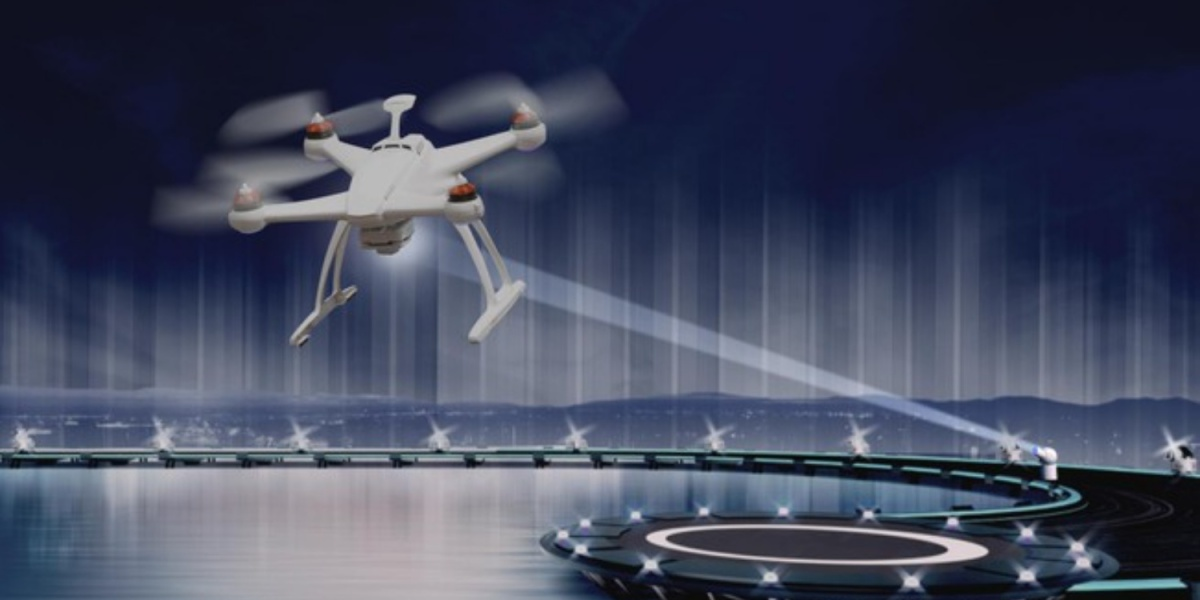 LakeDiamond - Charging your drone in flight with lasers and diamonds