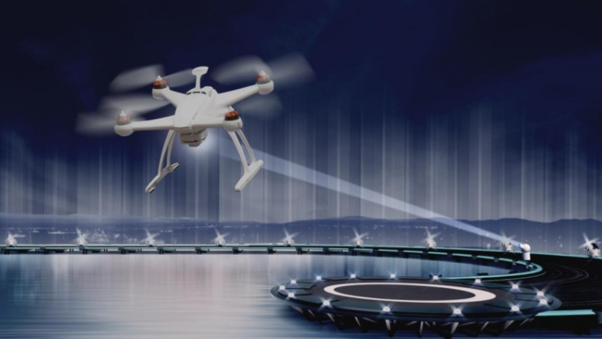 remote power drone flights