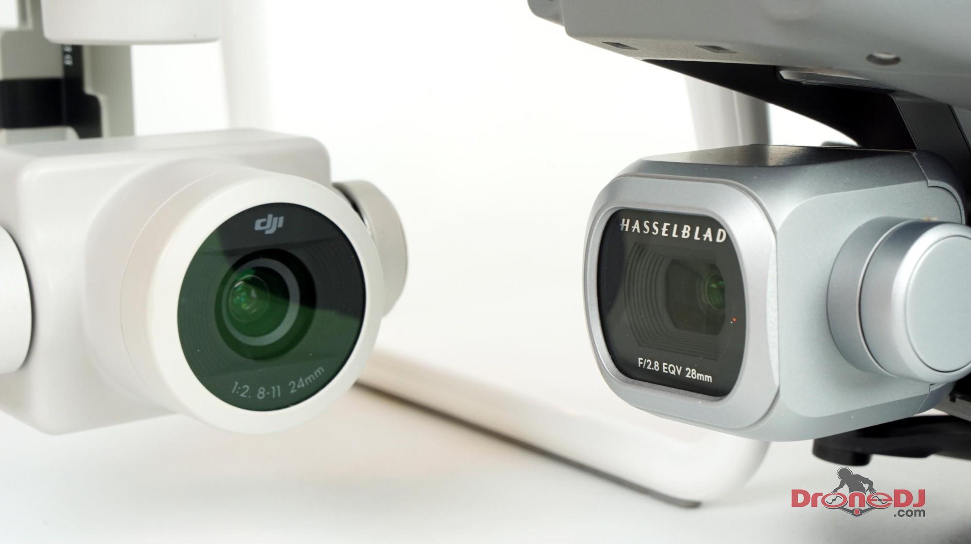 Phantom 4 Pro and Mavic 2 Pro Cameras