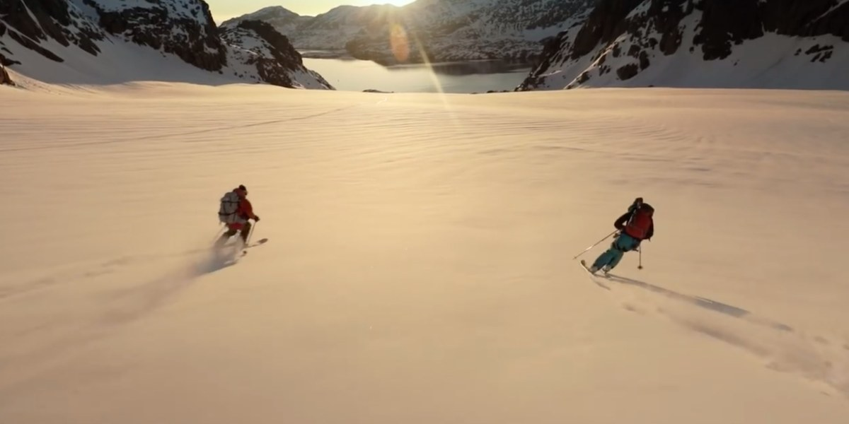 DJI's video of the Greenland expedition and the new remote controller