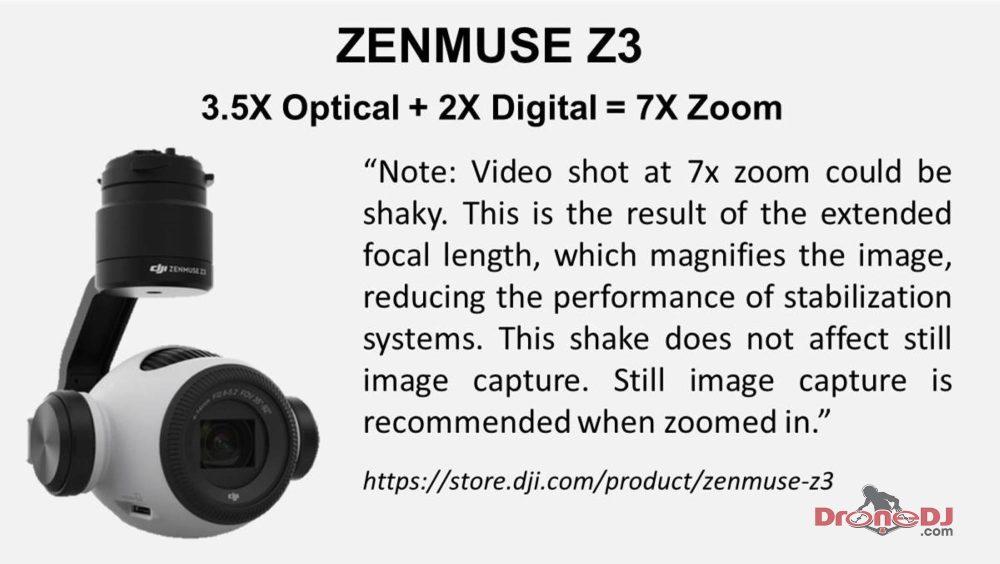 Zenmuse Z3 Zoom