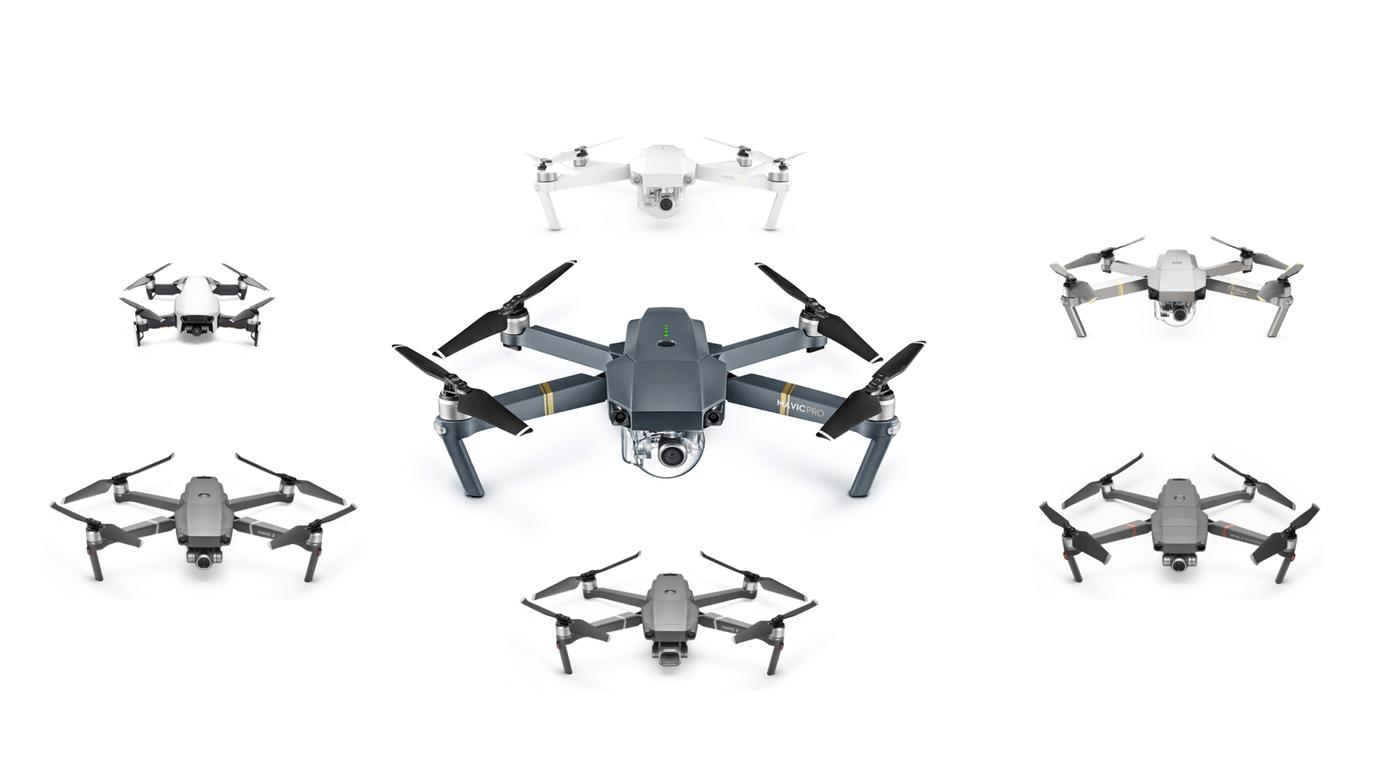 Ultimate DJI Mavic Comparison Guide - DroneDJ