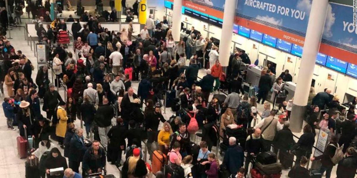 Drones shut down London's Gatwick Airport during busy holiday travel season