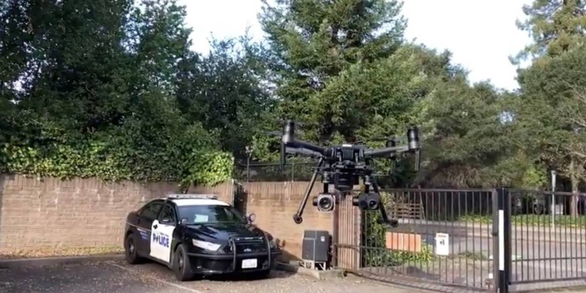 DJI Matrice 210 with Zenmuse XT2 thermal and Z30 zoom camera. ultimate police drone