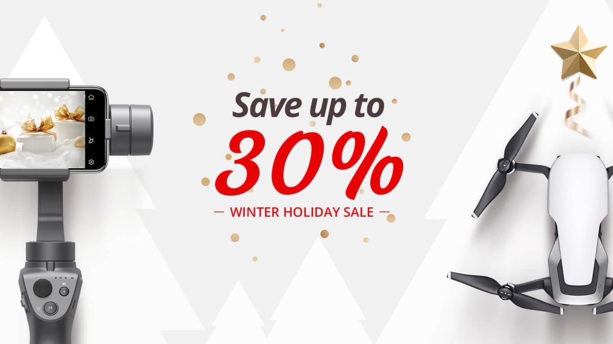 DJI launches Winter Holiday Sale for Christmas shopping season