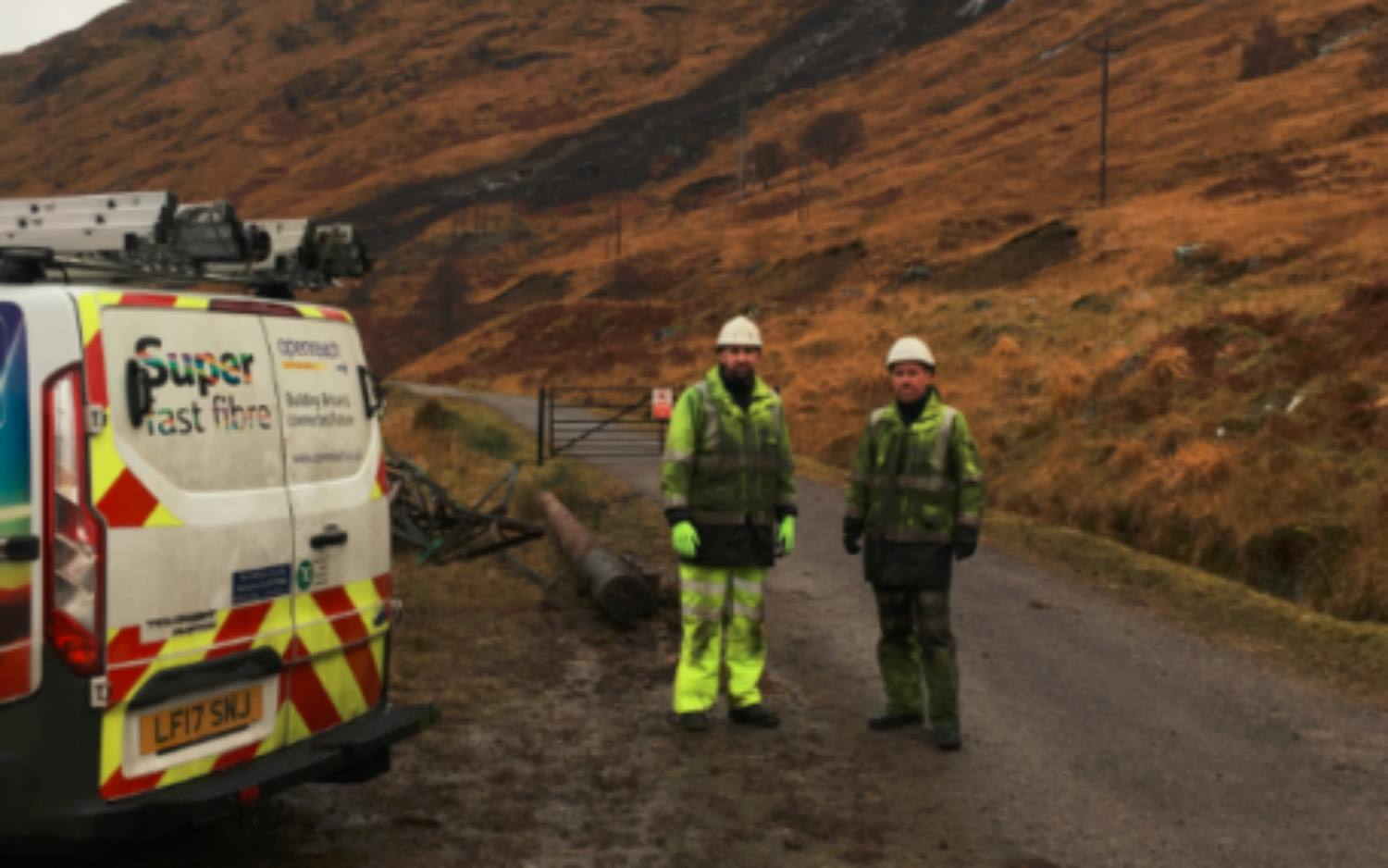 Drone used to restore communications in Scottish Higlands