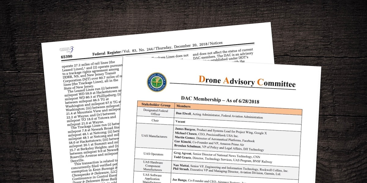 FAA's Drone Advisory Committee needs new members