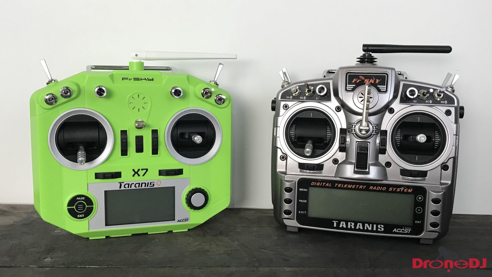 taranis qx7 vs x9d