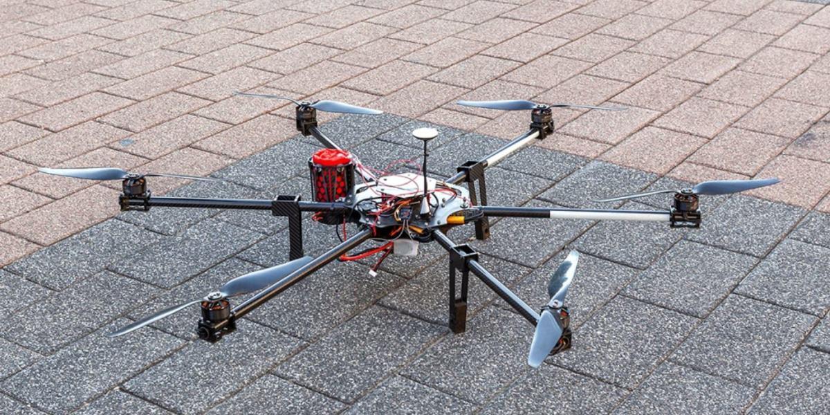 Intelligent Parachute Rescue System for DJI M600 made in Austria