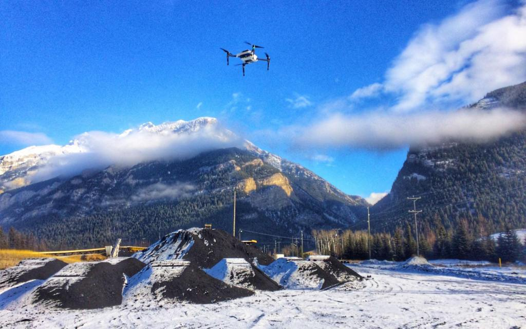 Skycatch High Precision Package for drone surveying selected by Canadian mining giant