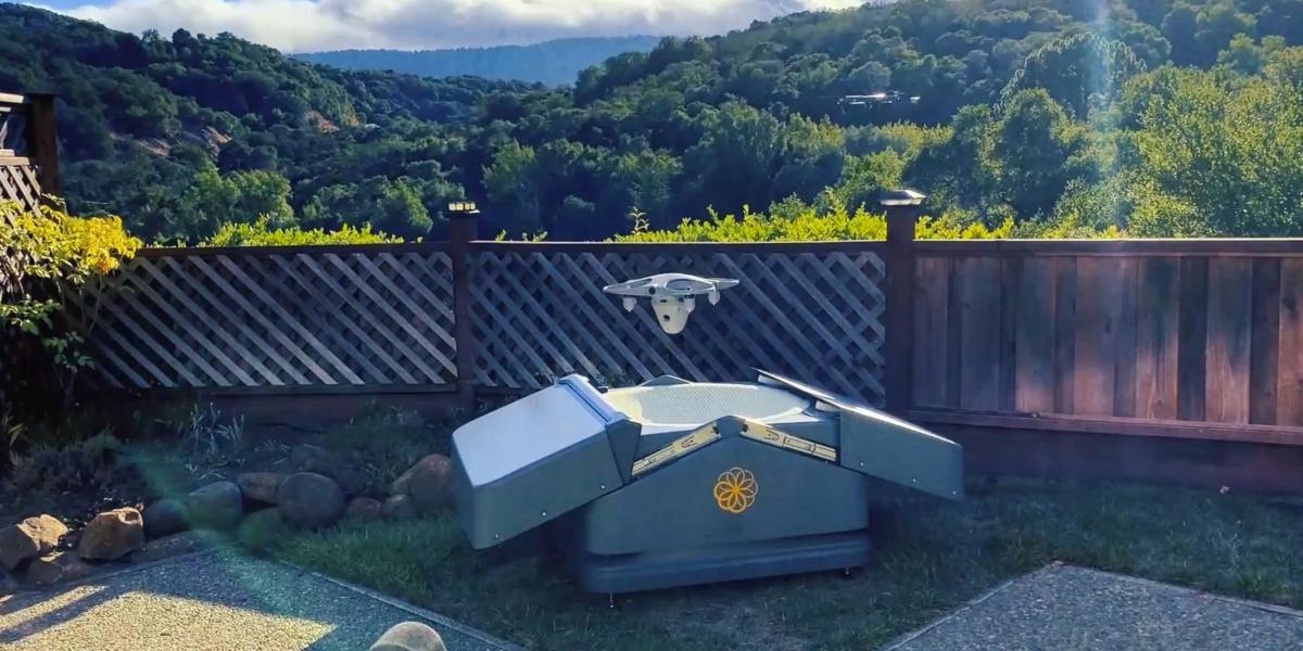 The Sunflower drone security system for your home
