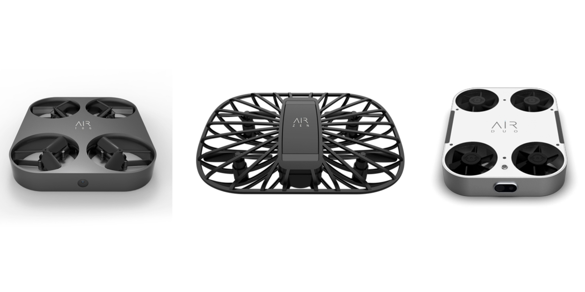 AirSelfie introduces three new drones at CES 2019