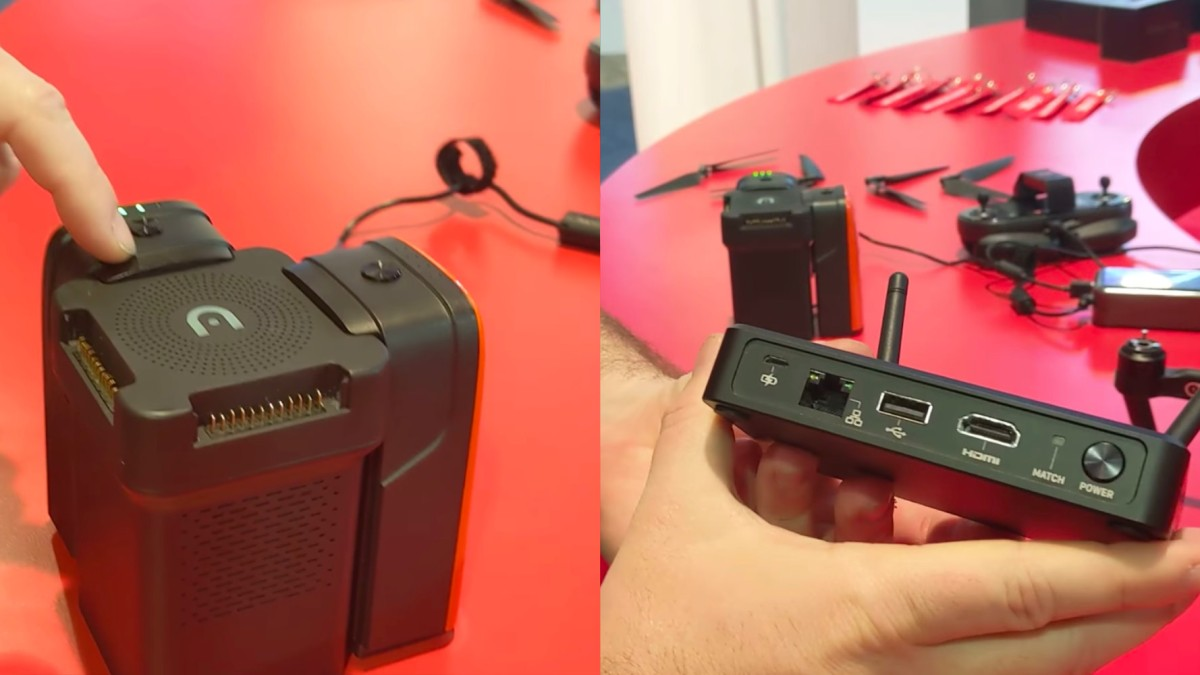 Autel Robotics showcases LiveDeck and MultiCharger at CES 2019