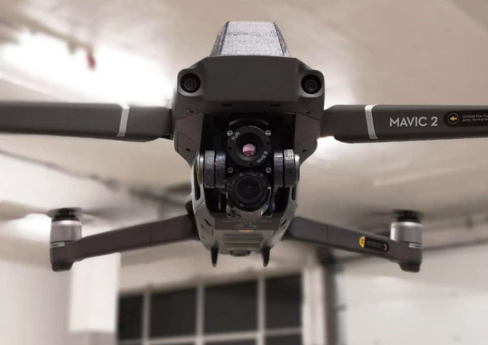 Mavic 2 Zoom FLIR Boson - a customized DJI thermal drone
