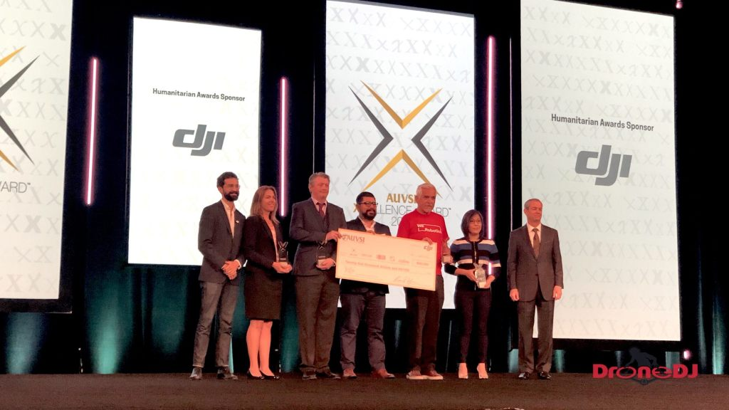 DJI and AUVSI 2nd annual XCELLENCE Humanitarian Awards