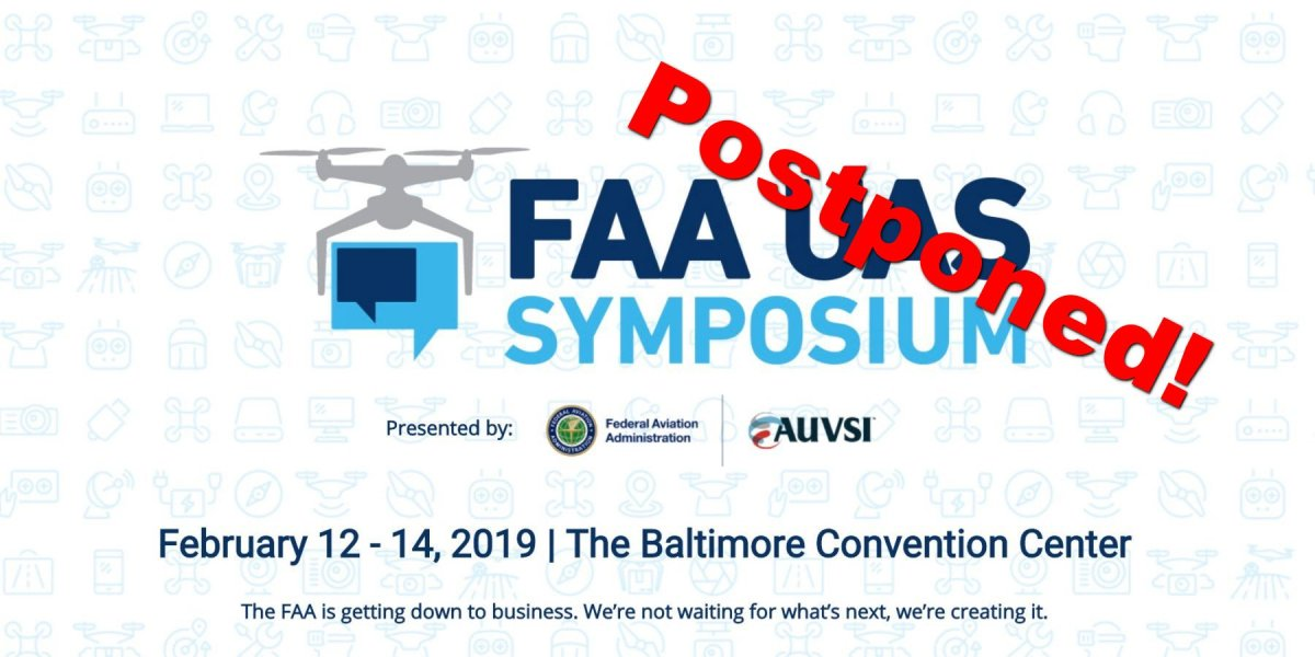 FAA-UAS-Symposium-February-2019-postponed