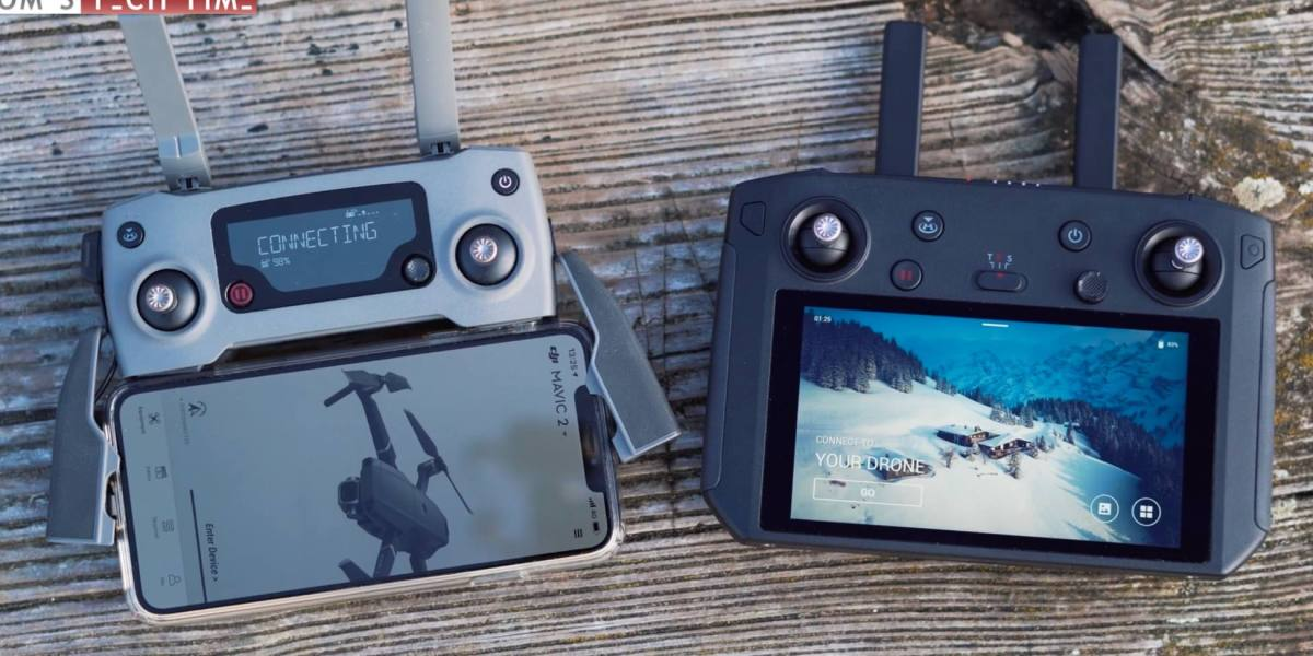 First YouTube reviews of the DJI Smart Controller show up
