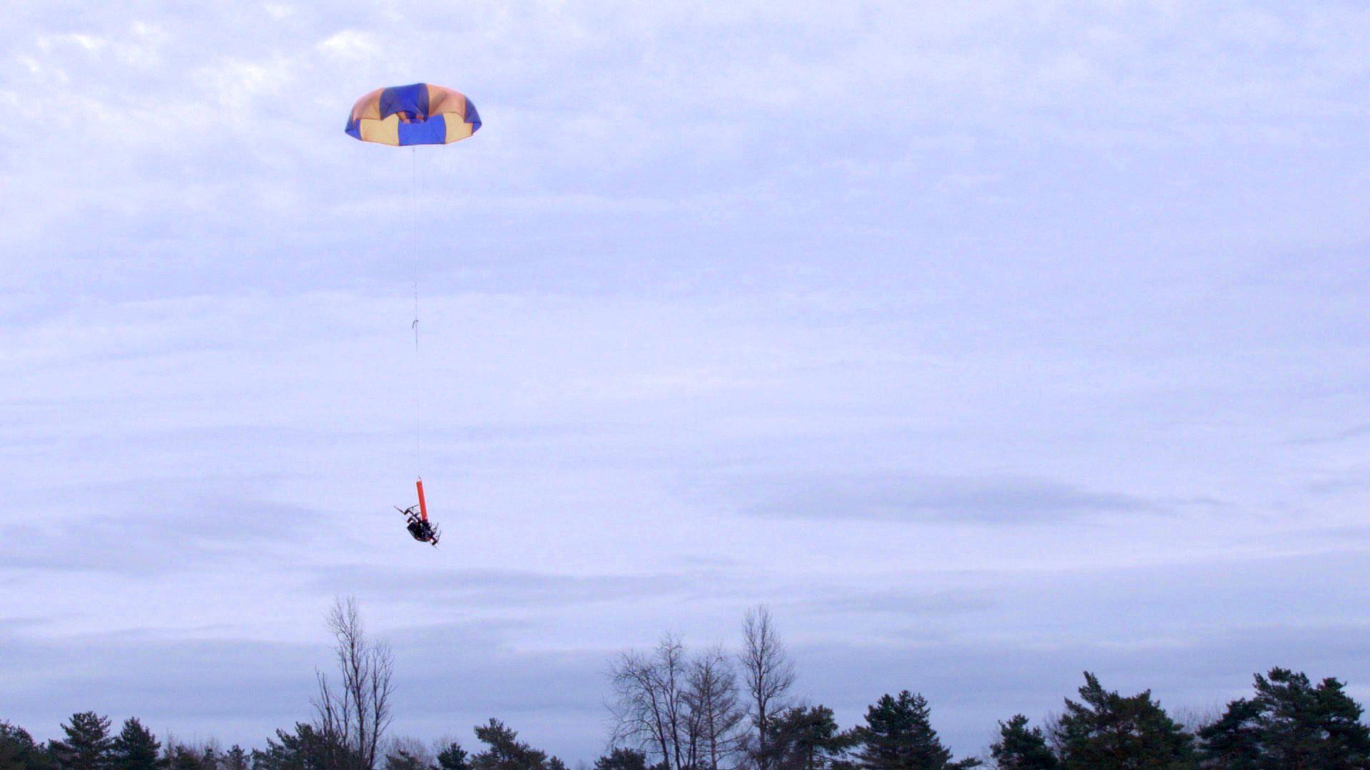 Indemnis Nexus Parachute for DJI drones meets stringent new safety standard