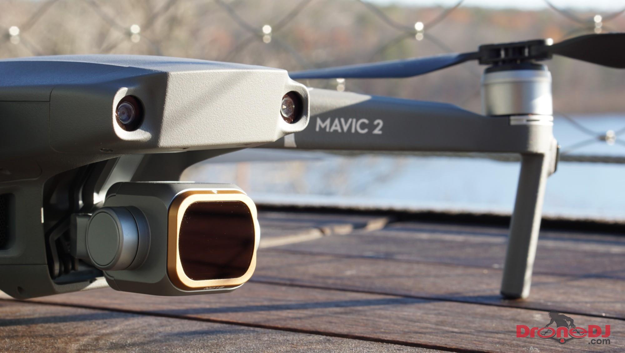 Mavic 2 Pro with polar pro filter