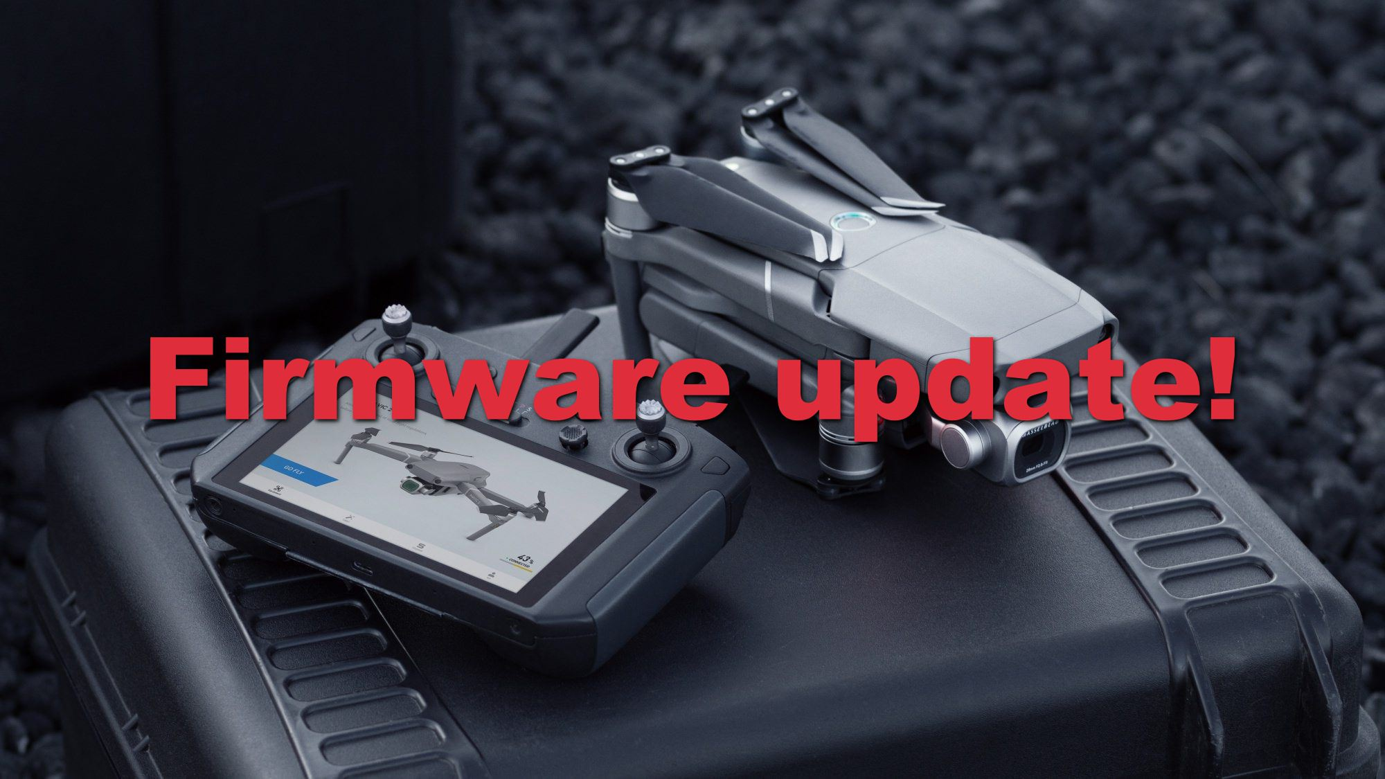 Out of stock DJI Smart Controller gets firmware update