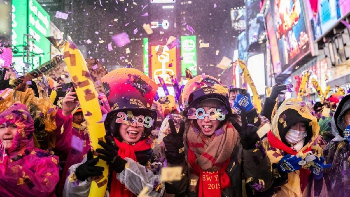 No NYPD drone on New Year's Eve in New York because of rain