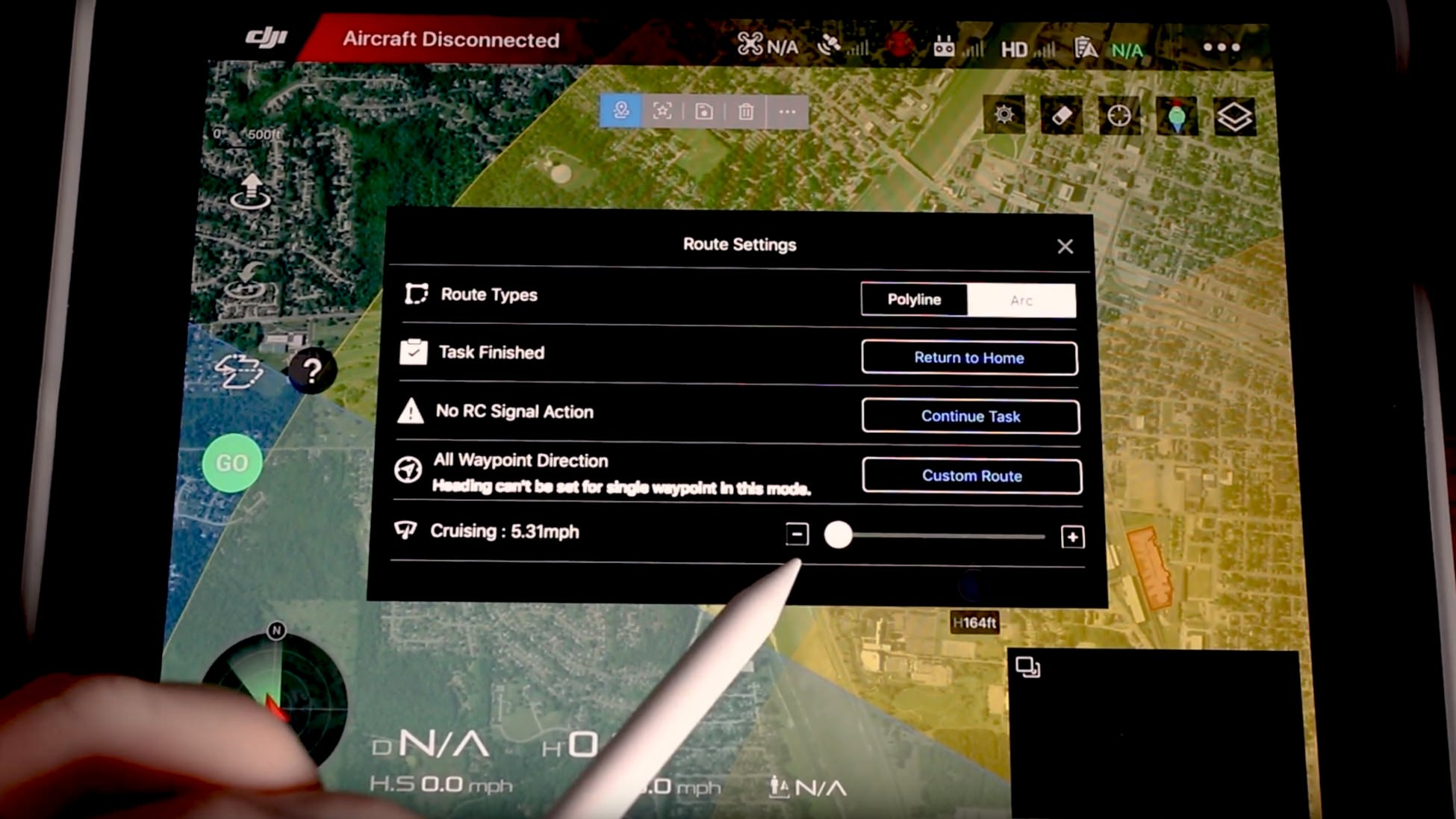 Waypoints for the Mavic 2 in DJI Go 4 app update [video
